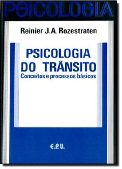 Picture of PSICOLOGIA DO TRANSITO - CONCEITOS