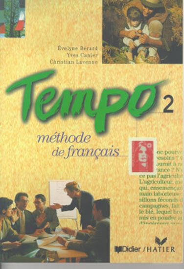 Picture of TEMPO 2 LIVRE DE L´ELEVE