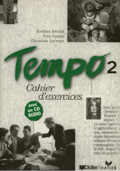 Picture of TEMPO 2 CAHIER D´EXERCICES AVEC CD AUDIO
