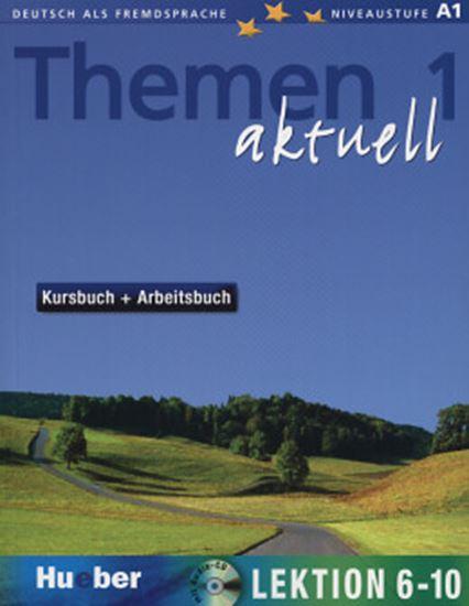 Picture of THEMEN AKTUELL 1 (LEKT. 6-10) KURSBUCH+ARBEITSBUCH + CD (TEXTO/EXERCICIO)