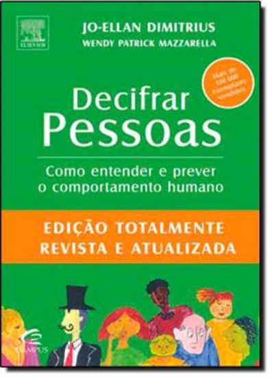 Picture of DECIFRAR PESSOAS - EDICAO TOTALMENTE REVISTA E ATUALIZADA
