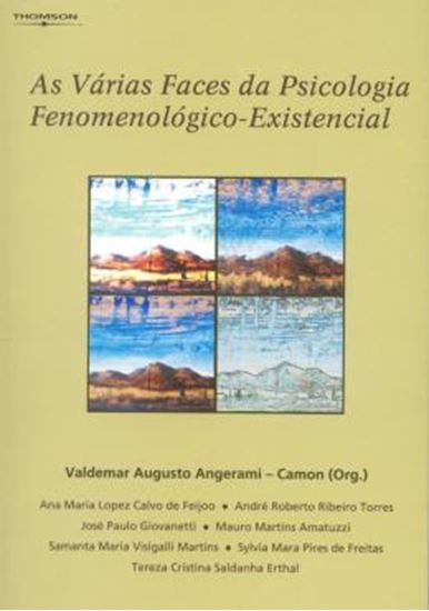 Picture of AS VARIAS FACES DA PSICOLOGIA FENOMENOLOGICO- EXISTENCIAL
