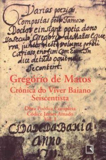 Picture of GREGORIO DE MATOS - OBRA POETICA COMPLETA - 2 VOLUMES