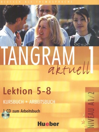 Picture of TANGRAM AKTUELL 1 KURSBUCH & ARBEITSBUCH LEKTION 5-8  COM CD (TEXTO + EXERCICIOS)