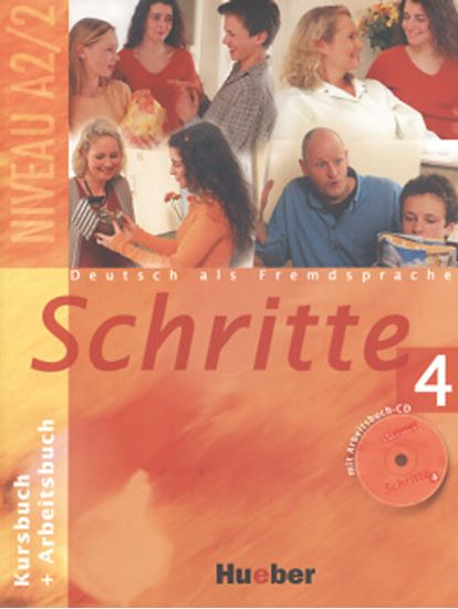 Picture of SCHRITTE 4 (KURSBUCH+ARBEITSBUCH+CD)