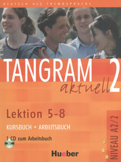 Picture of TANGRAM AKTUELL 2 KURSBUCH & ARBEITSBUCH LEKTION 5-8  C/ CD (TEXTO + EXERCICIOS)