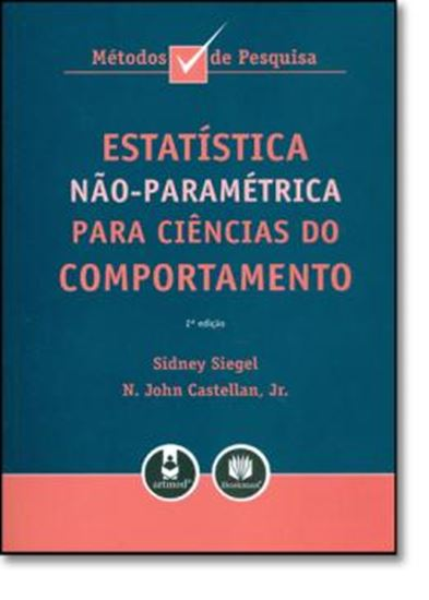 Picture of ESTATISTICA NAO-PARAMETRICA PARA CIENCIAS DO COMPORTAMENTO  2ª EDICAO