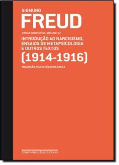 Picture of FREUD 12 - INTRODUCAO AO NARCISISMO, ENSAIOS DE METAPSICOLOGIA E OUTROS TEXTOS (1914-1916)
