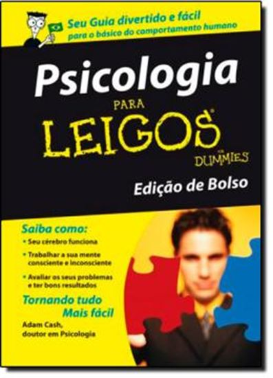 Picture of PSICOLOGIA PARA LEIGOS - EDICAO DE BOLSO