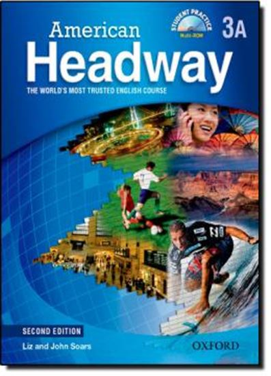 Picture of AMERICAN HEADWAY SB 3A WITH CD - SECOND EDITION