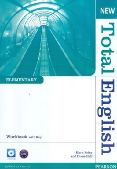 Picture of NEW TOTAL ENGLISH ELEMENTARY WORK BOOK WITH KEY AUD CD PACK