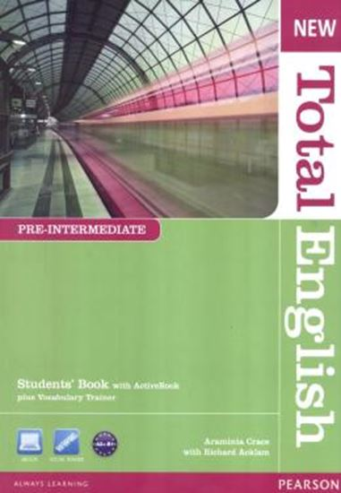 Picture of NEW TOTAL ENGLISH PRE INTERMEDIATE STUDENT BOOK WITH ACTIVE BOOK CD-ROM