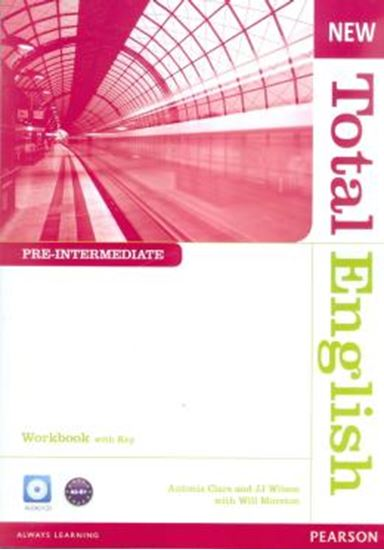 Picture of NEW TOTAL ENGLISH PRE INTERMEDIATE WORK BOOK  WITH KEY AUD CD PACK