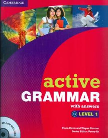 Picture of ACTIVE GRAMMAR - LEVEL  1 - WITH ANSWER & CDROM