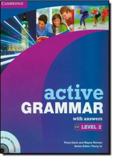 Picture of ACTIVE GRAMMAR - LEVEL  2 - WITH ANSWER & CDROM