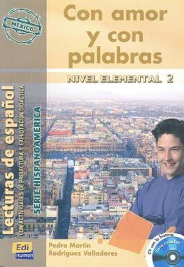 Picture of CON AMOR Y CON PALABRAS  HISPANOAMERICA - CD