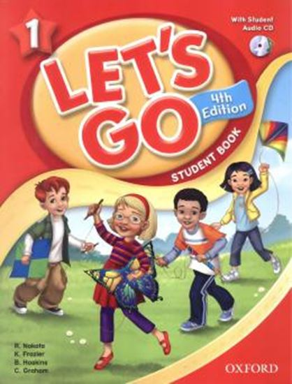 Picture of LETS GO 1 STUDENT BOOK WITH CD PACK - FOURTH EDITION