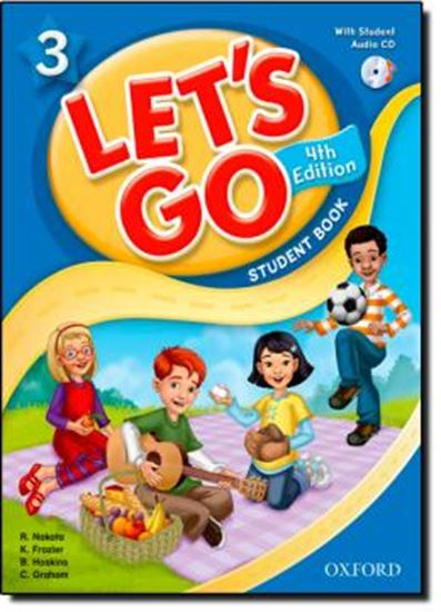 Picture of LETS GO 3 STUDENT BOOK WITH CD PACK - FOURTH EDITION