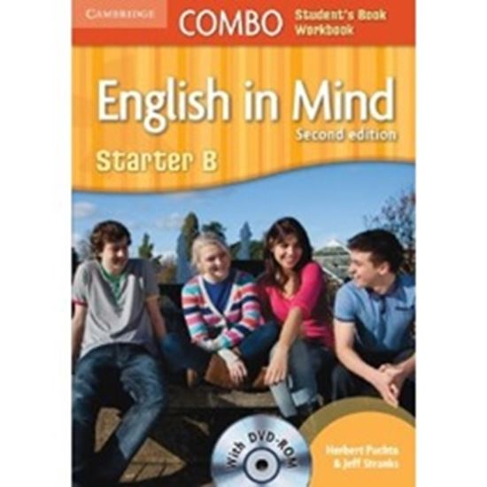 Picture of ENGLISH IN MIND STARTER B COMBO STUDENTS BOOK / WORKBOOK WITH DVD ROM - SECOND EDITION