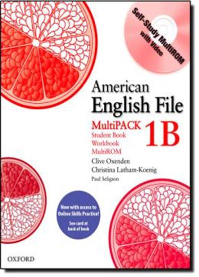 Picture of AMERICAN ENGLISH FILE MULTIPACK 1 B WITH CD - 1ST ED