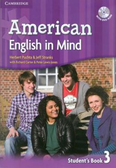 Picture of AMERICAN ENGLISH IN MIND 3 STUDENTS BOOK WITH DVD-ROM