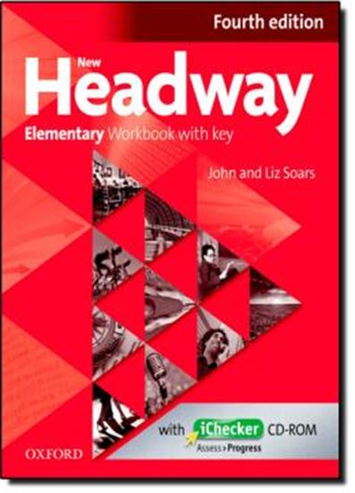 Picture of NEW HEADWAY ELEMENTARY WORKBOOK - FOURTH EDITION