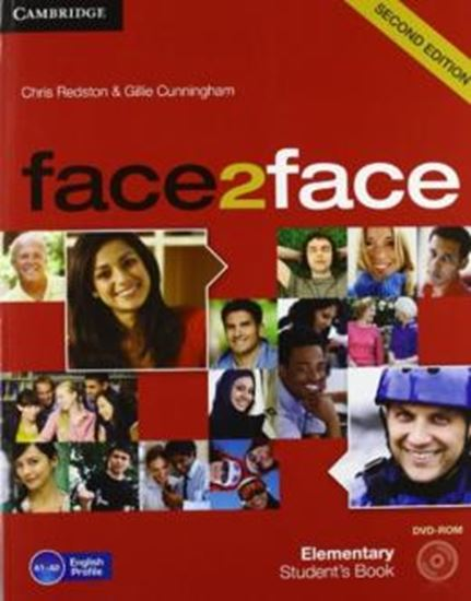 Picture of FACE2FACE ELEMENTARY STUDENTS BOOK WITH DVD-ROM - 2ND ED