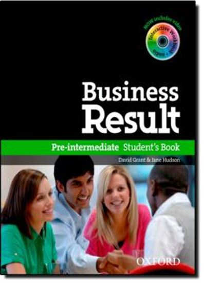 Picture of BUSINESS RESULT PRE-INTERMEDIATE STUDENTS BOOK WITH DVD-ROM