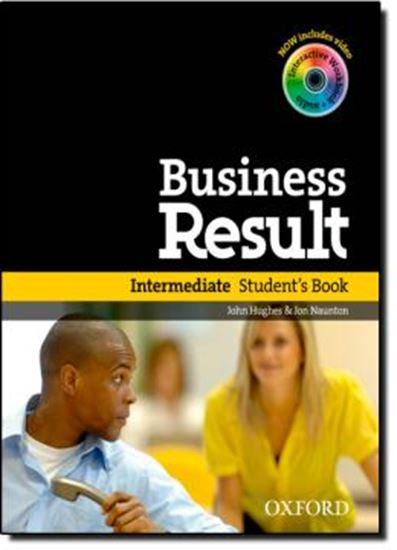 Picture of BUSINESS RESULTS INTERMEDIATE STUDENTS BOOK WITH DVD-ROM