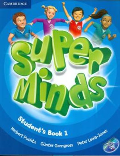 Picture of SUPER MINDS BRITISH 1 SB WITH DVD-ROM