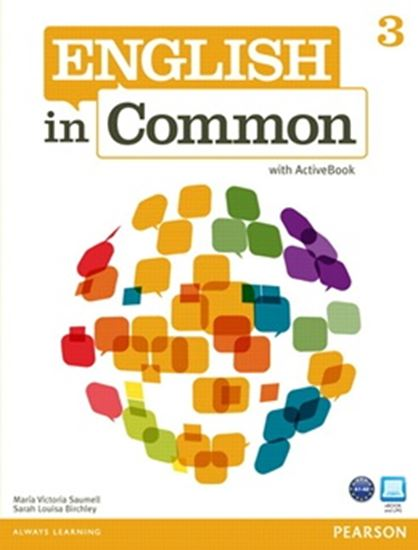 Picture of ENGLISH IN COMMON 3 STUDENTS BOOK WITH ACTIVE BOOK CD-ROM