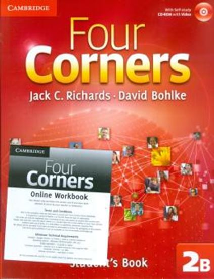 Picture of FOUR CORNERS 2B - STUDENTS BOOK WITH CD-ROM AND ONLINE WORKBOOK
