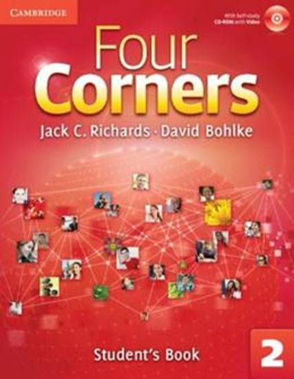 Picture of FOUR CORNERS 2 - STUDENTS BOOK WITH CD-ROM AND ONLINE WORKBOOK