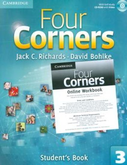 Picture of FOUR CORNERS 3 - STUDENTS BOOK WITH CD-ROM AND ONLINE WORKBOOK