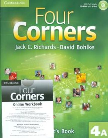 Picture of FOUR CORNERS 4A - STUDENTS BOOK WITH CD-ROM AND ONLINE WORKBOOK