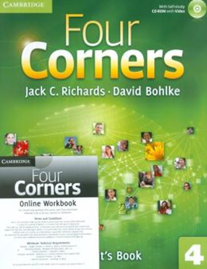 Picture of FOUR CORNERS 4 - STUDENTS BOOK WITH CD-ROM AND ONLINE WORKBOOK