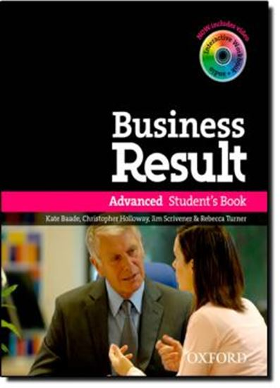 Picture of BUSINESS RESULT - ADVANCED STUDENT S BOOK WITH DVD-ROM