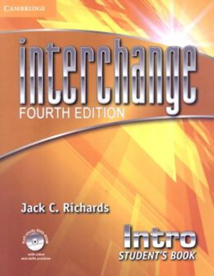 Picture of INTERCHANGE INTRO STUDENTS BOOK WITH DVD-ROM - FOURTH EDITION