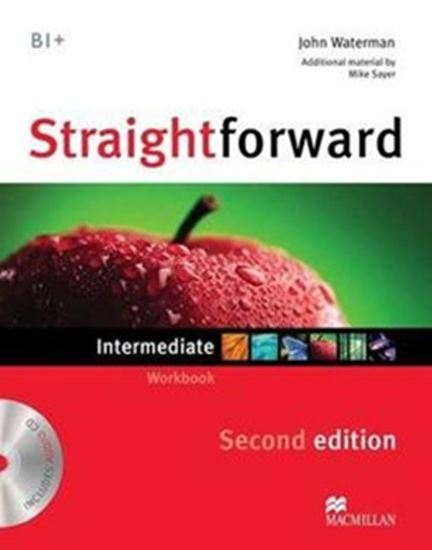 Picture of STRAIGHTFORWARD INTERMEDIATE WORKBOOK WITH CD (NO KEY) -  2ND ED