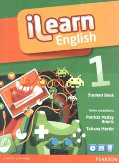 Picture of ILEARN ENGLISH 1 SB PACK - WITH READER AND MULTI-ROM