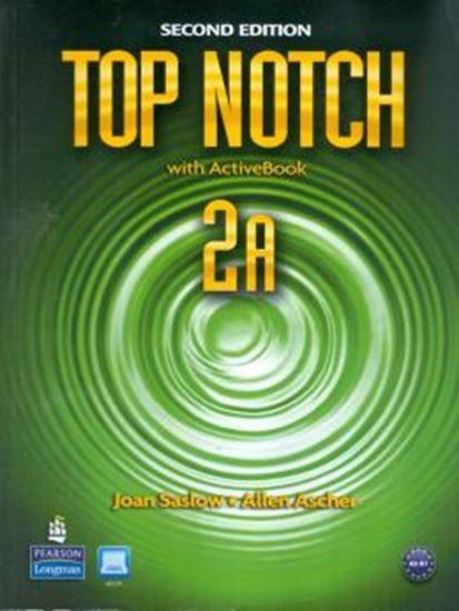 Picture of TOP NOTCH 2 - STUDENT S BOOK A ACTIVE BOOK WITH CD-ROM & MYLAB - SECOND EDITION