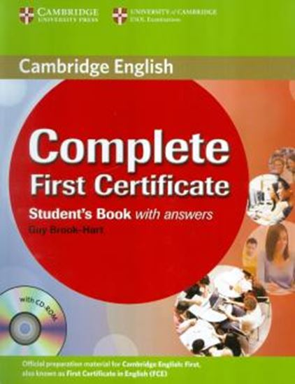 Picture of COMPLETE FIRST CERTIFICATE SB WITH ANSWERS AND CD ROM