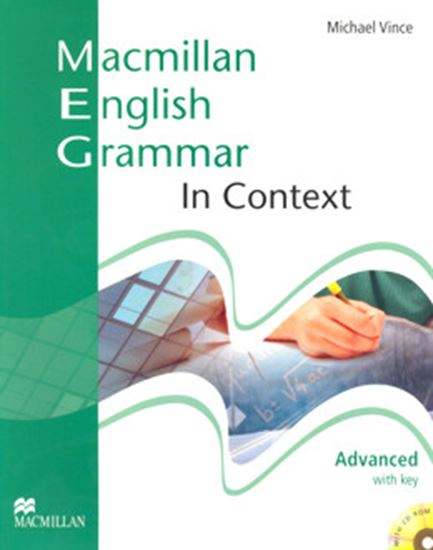 Picture of MACMILLAN ENGLISH - GRAMMAR IN CONTEXT WITH KEY AND CD ROM - ADVANCED