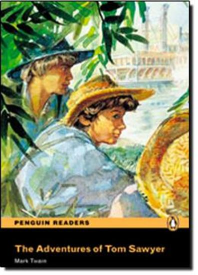 Picture of ADVENTURES OF TOM SAWYER - PENGUIN READERS LEVEL 1 - BOOK WITH AUDIO CD