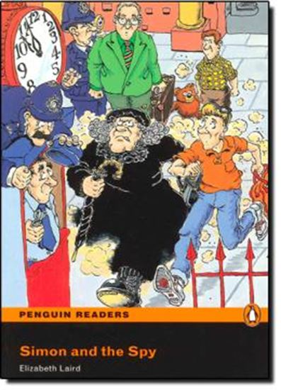 Picture of SIMON AND THE SPY - PENGUIN READERS EASYSTARS - BOOK WITH CD