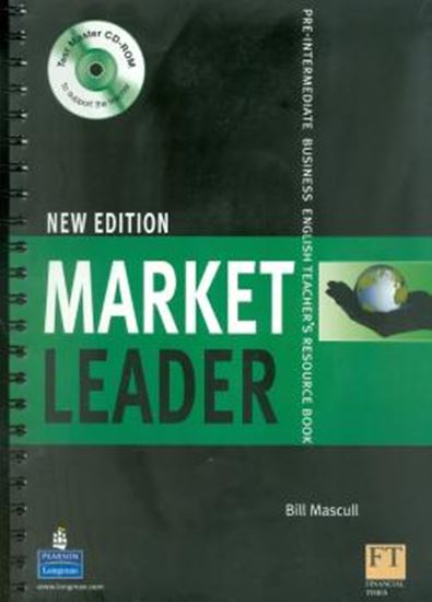 Picture of MARKET LEADER PRE-INTERMEDIATE TEACHER´S BOOK RESOURCE WITH TEST MASTER CD-ROM NEW EDITION