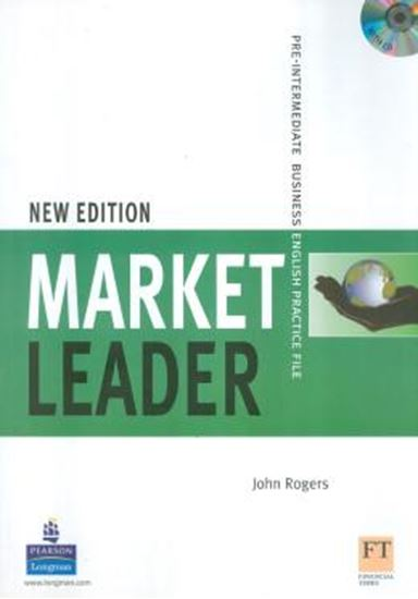 Picture of MARKET LEADER PRE-INTERMEDIATE PRACTICE FILE (BOOK WITH CD) NEW EDITION