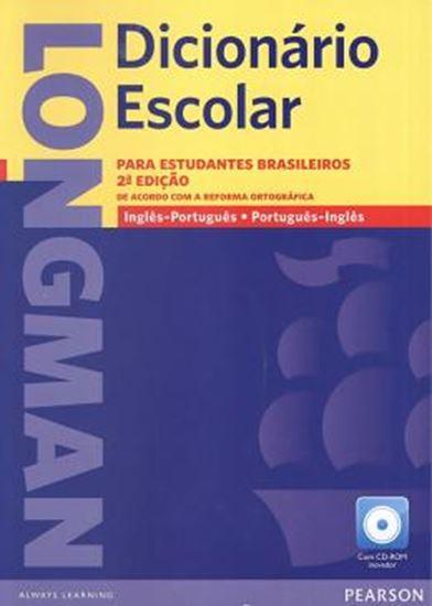 Picture of LONGMAN DICIONARIO ESCOLAR ING/PORT - PORT/ING COM CD-ROM - 2ª ED N/E