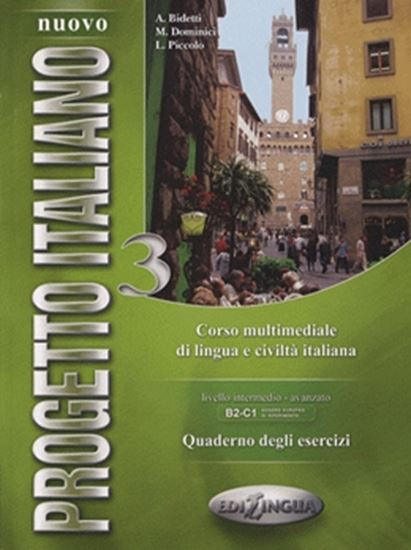Picture of NUOVO PROGETTO ITALIANO 3  - QUADERNO DEGLI ESERCIZI