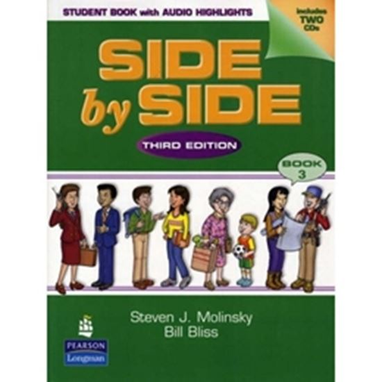 Picture of SIDE BY SIDE SB 3 WITH CD THIRD EDITION